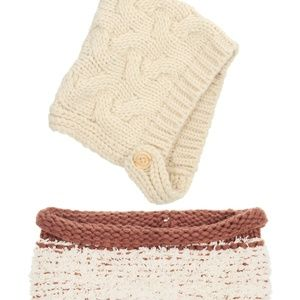 Other - Kids Winter Warm Set Soft Knitted Hat and Scarf